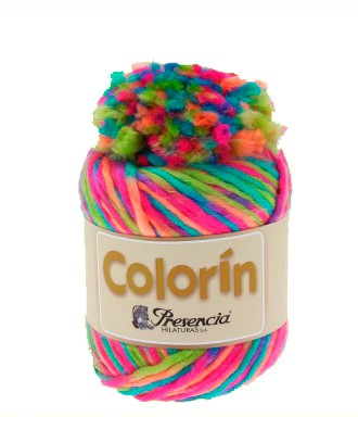 "50 gr. Ball ""COLORIN"" YARN + POMPON"