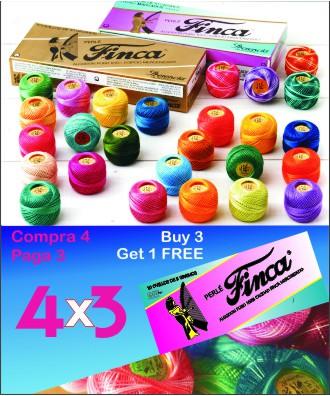 5 gr. ball n.8 perle FINCA variegated