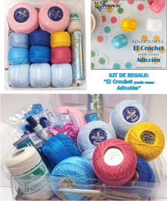 Kit regalo: CROCHET