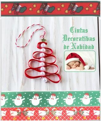 CHRISTMAS RIBBON 25 METERS ROLL