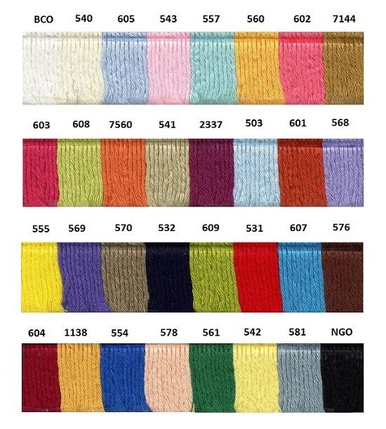 Referencias Colores Mel