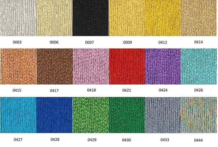 Referencias Colores Metalizados