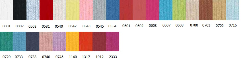 Colores Algodón para Labores