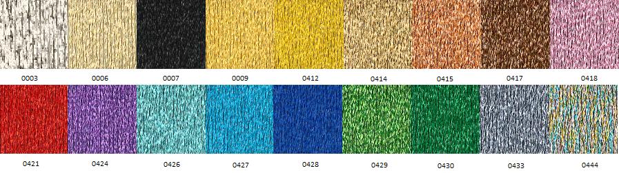 Colores Referencias Hilaturas Presencia